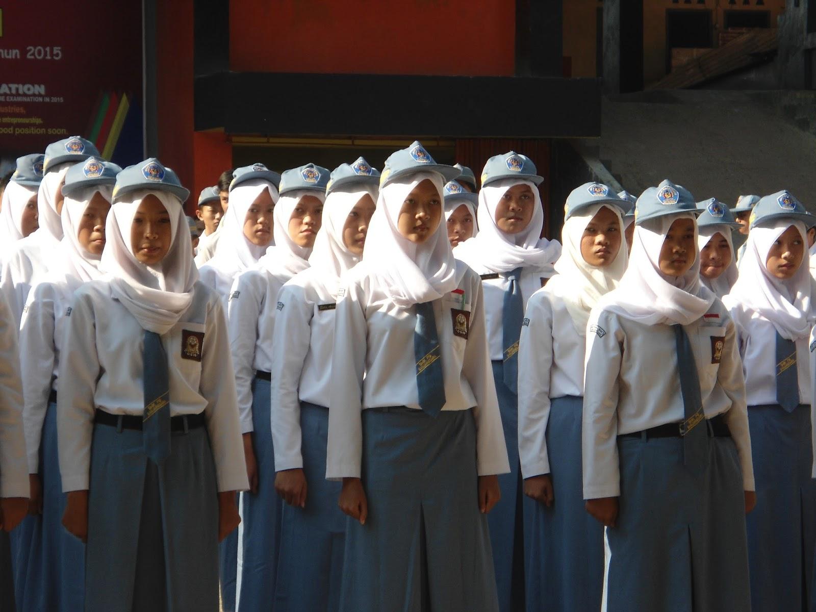 Penyampaian Program kerja Sekolah 2015-2016 oleh Kepala Sekolah