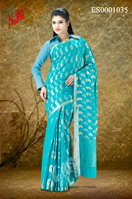 Latest Nalli Silks Sari Designs
