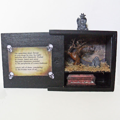 memento mori diorama