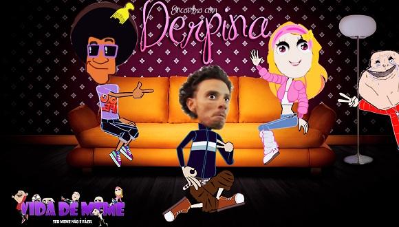 Derpina, Encontro com a Derpina, Cd do morre deabo, ah negao, reportagem, vidadememe, vdm, youtube