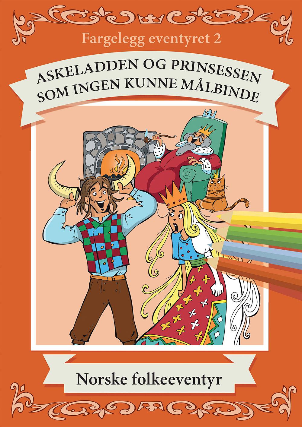 Fargeleggingsbok, illustrasjon