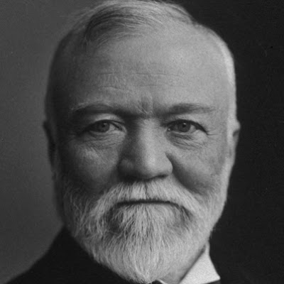 the history of andrew carnegies businesses Andrew carnegie died in 1919, and i became a librarian in 2012  the historical  tensions between business interests and higher education,.