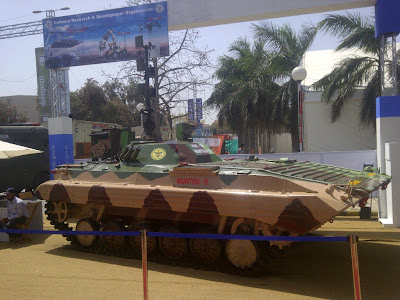 FIRST LOOK: India's Unmanned Tracked Ground Vehicle - MUNTRA