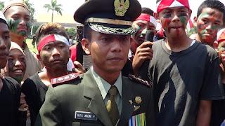 Drama Teartrikal Warnai Upacara Peringatan HUT Kemerdekaan RI Ke-70