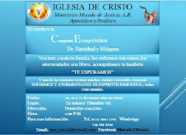 COMUNIDAD DE EL MAMEY TIHUATLAN VERA CRUZ, MEXICO: Gran Cruzada Evangelistica de Milagros