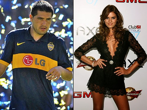 Juan Riquelme và Luli Fernandez