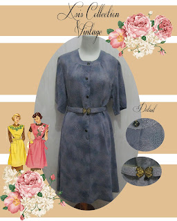 dress second, baju second, dress murah, dress import, dress vintage, vintage dress