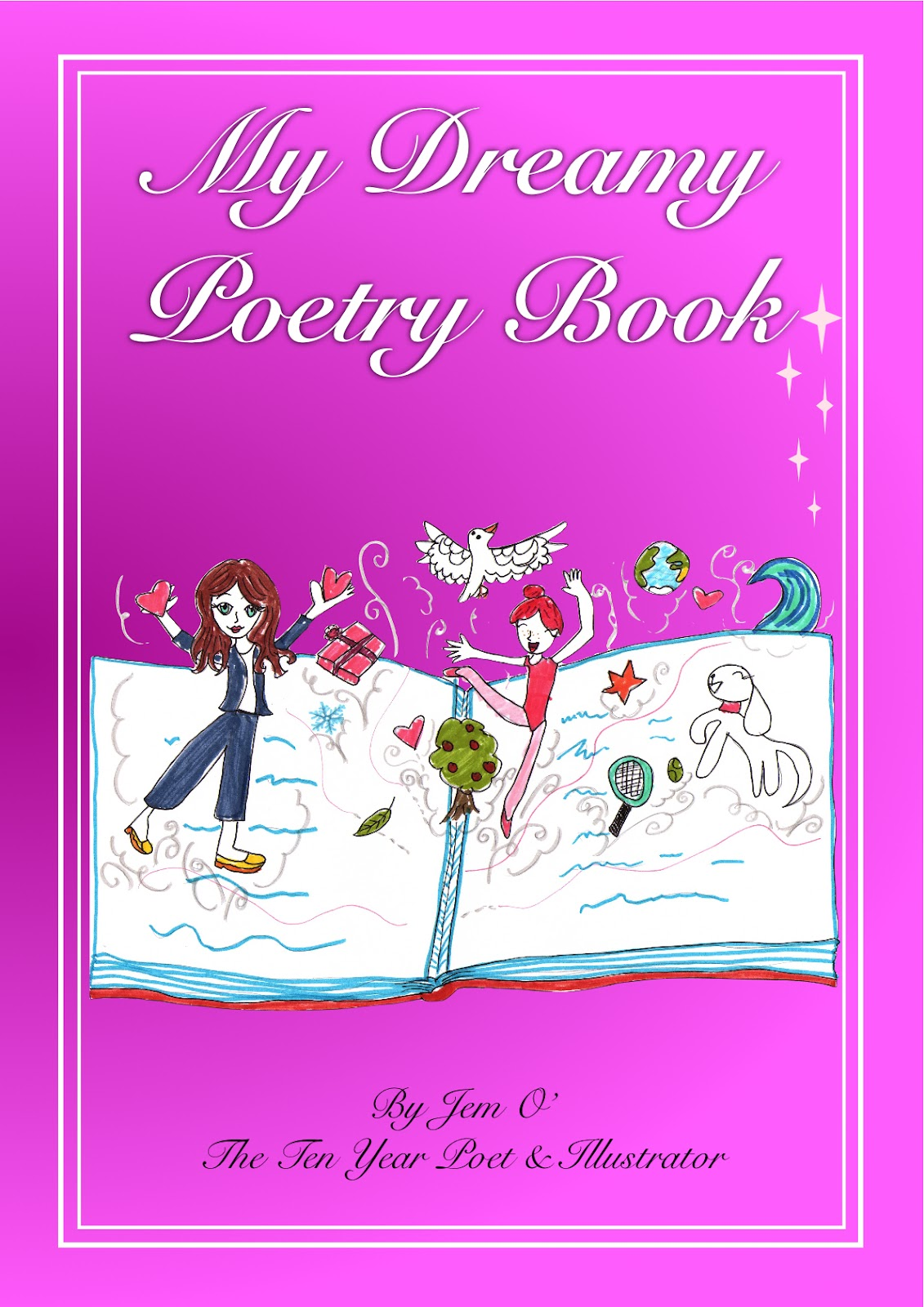 Poetry Book Front Cover ~ Books dreams fan