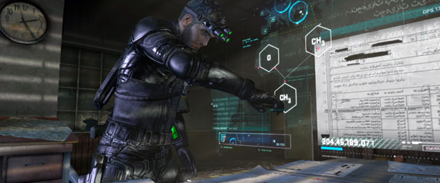Splinter Cell Blacklist Customization Options