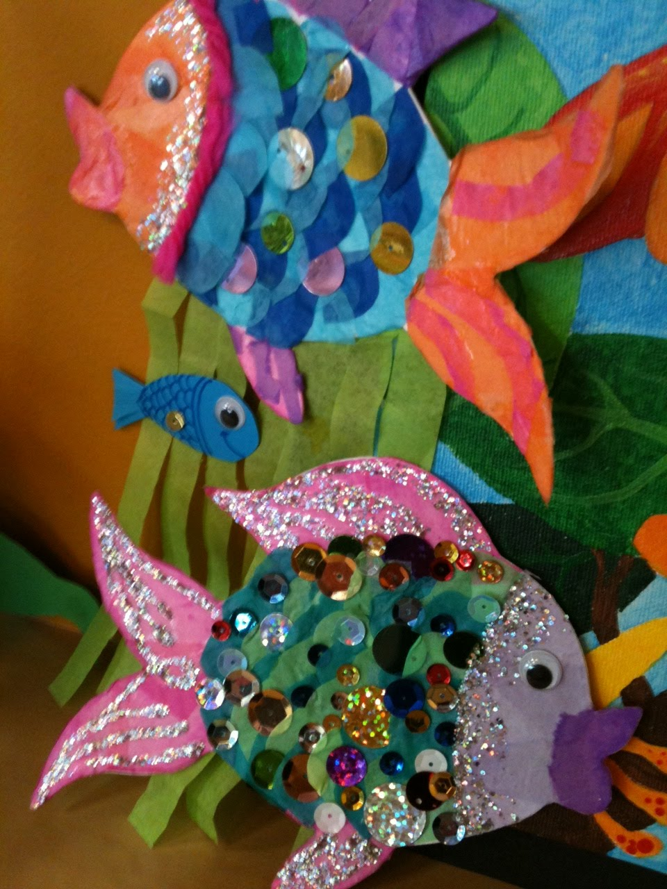 Rainbow fish activities for Rainbow fish pictures