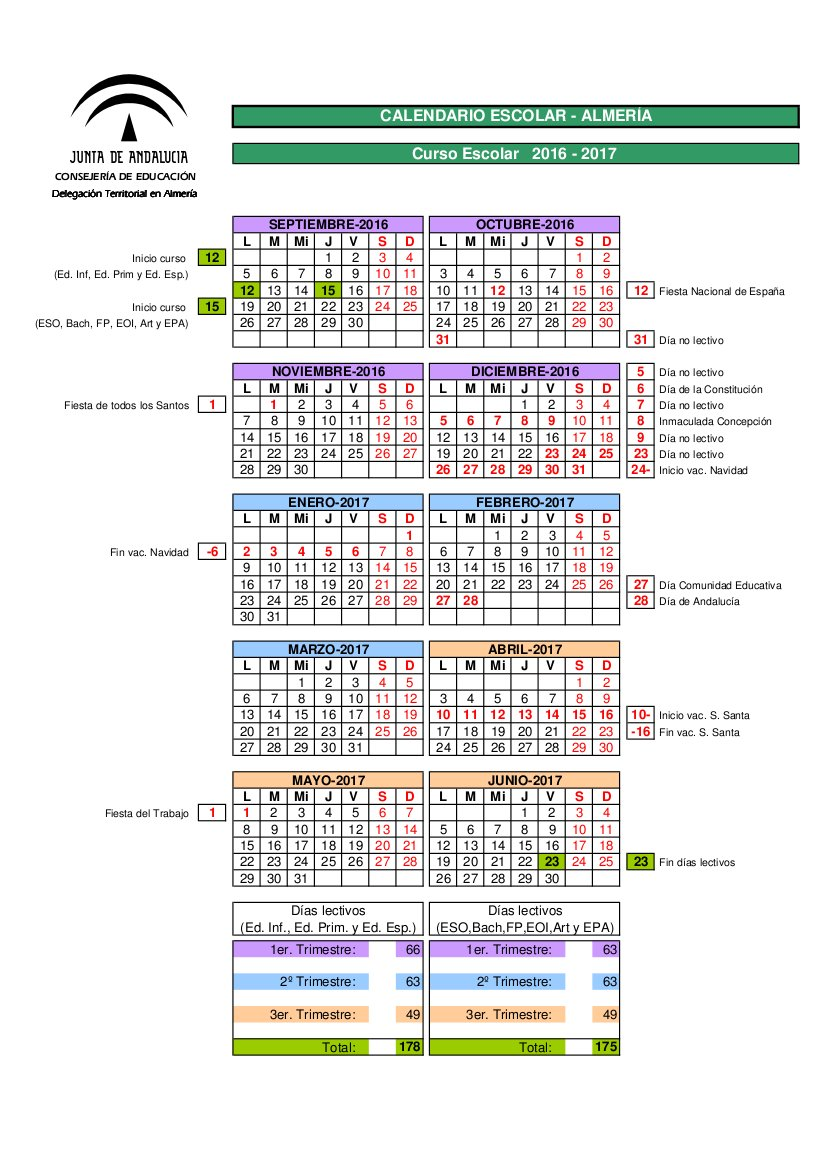 Calendario 2017/18
