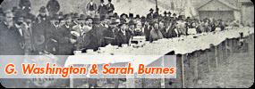 George Washington & Sarah Burnes