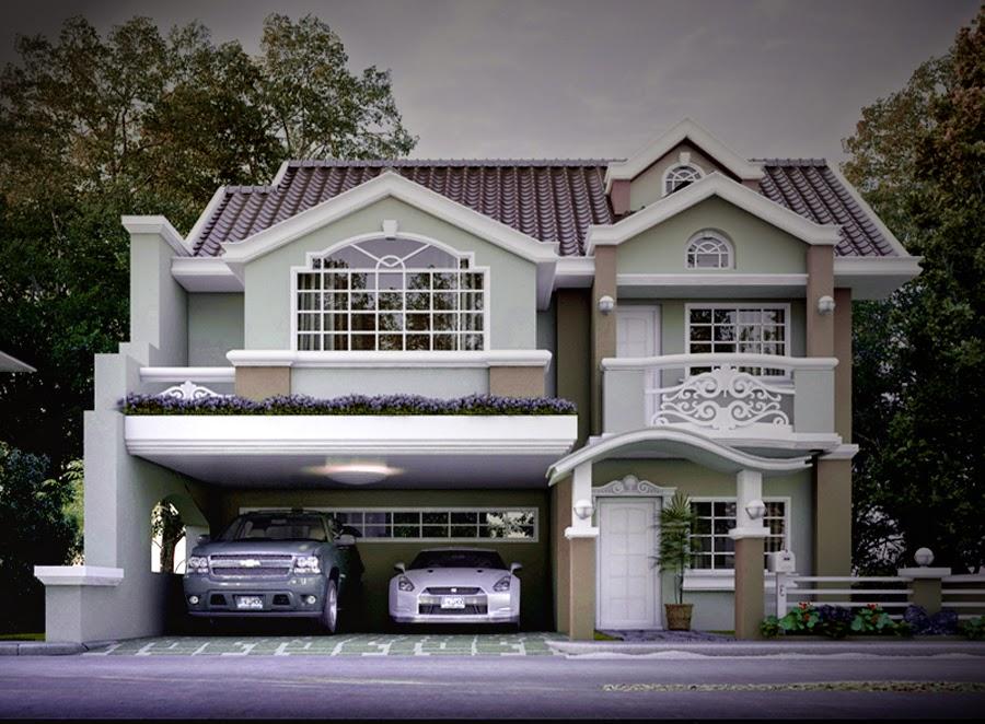 gambar rumah klasik minimalis mewah