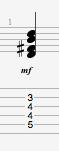 D6 guitar chord