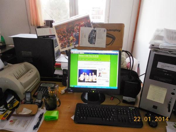 Biroul meu de blogger online si offline