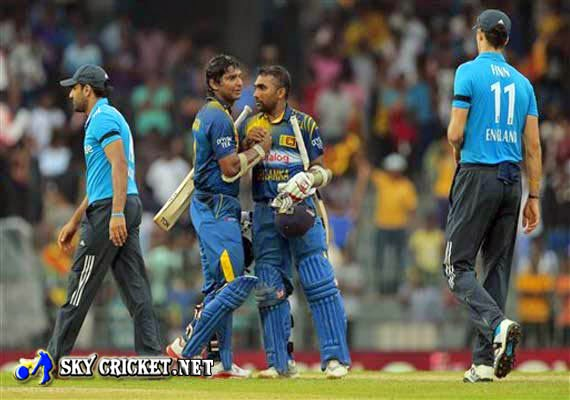 Sri Lanka beat England in 2nd ODI by 8 wickets