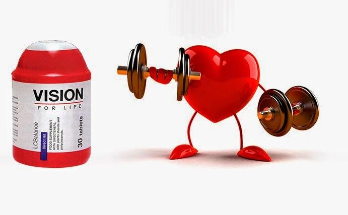 Tác dụng LCBalance Vision kiểm soát Cholesterol