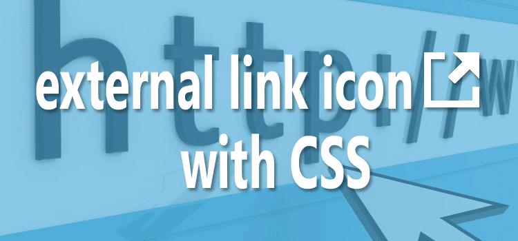 Membuat External Link Icon Dengan CSS