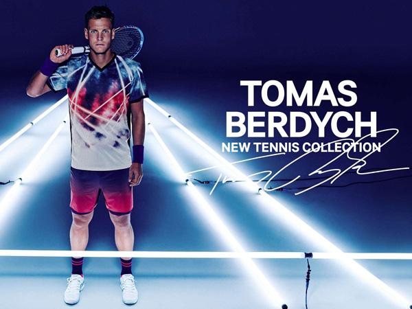 colección ropa tenis Tomas Berdych H&M