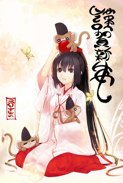 Trzecia karta pocztowa anime na 2016 rok