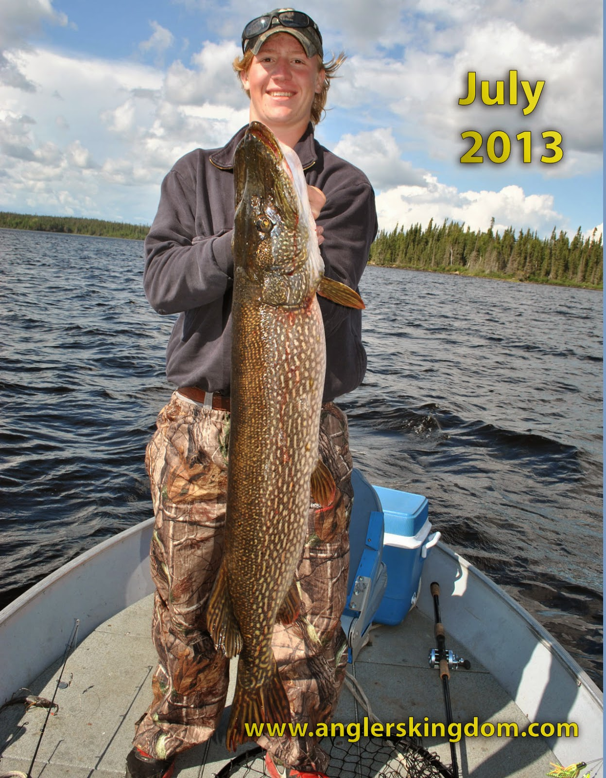 red lake fishing reports