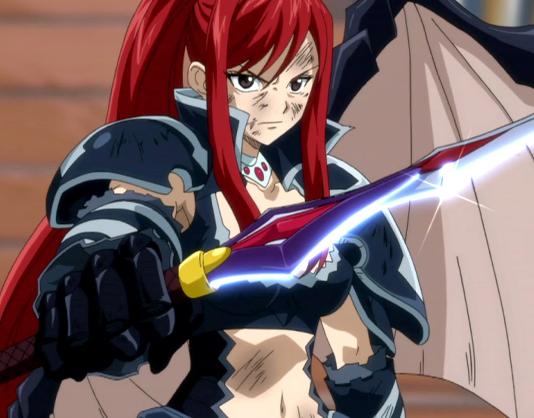 Wallpaper Erza Scarlet (Fairy Tail)