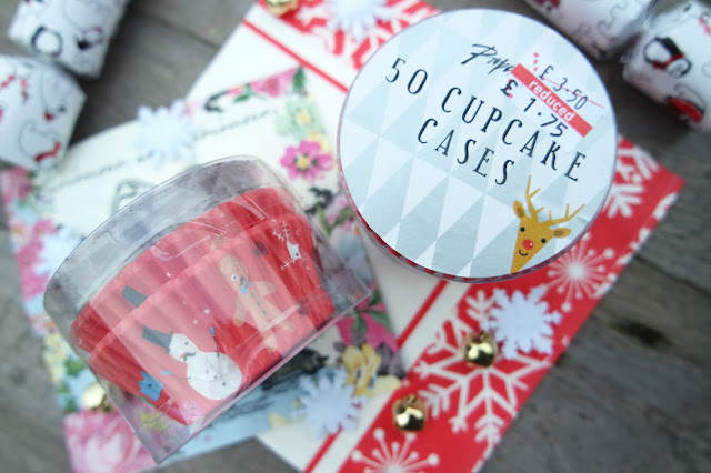 Paperchase Christmas Cupcake/Muffin Cases