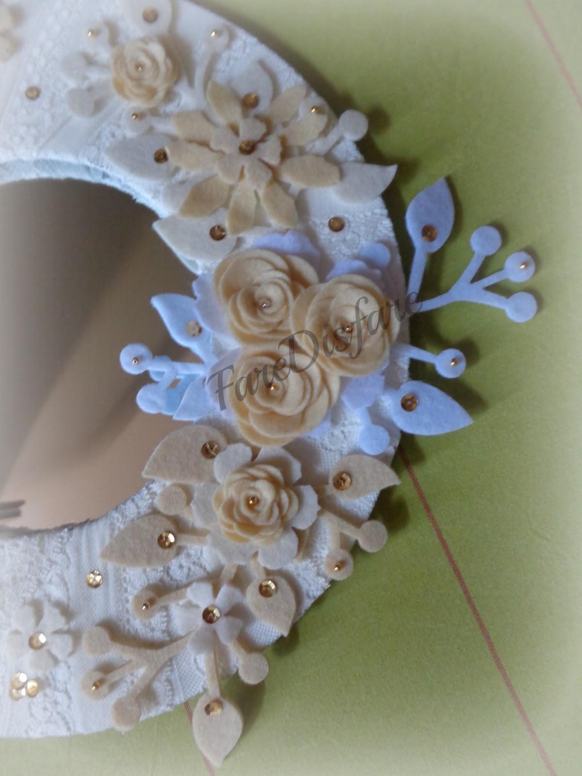 Faredisfare specchio shabby for Specchio shabby