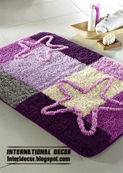 purple bathroom rugs and rug sets