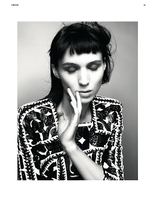 Rooney Mara by Glen Luchford for Dazed & Confused-2