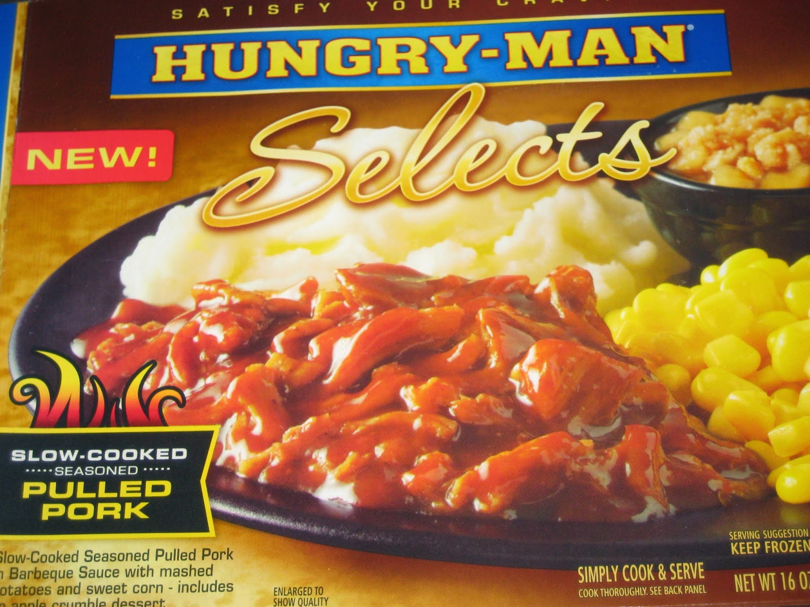 Hungry Man Has A New Dinner Pulled Pork The New Meal Features Slow Cooked Seasoned Pulled