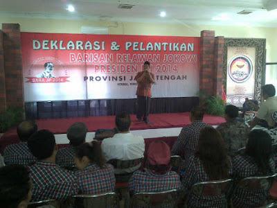 Barisan Relawan Jokowi Presiden 2014