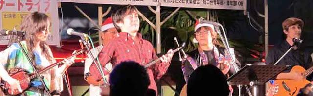 live band, Miyazawa Kazufumi, singer, Santa helpers