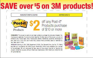 3m post it coupons