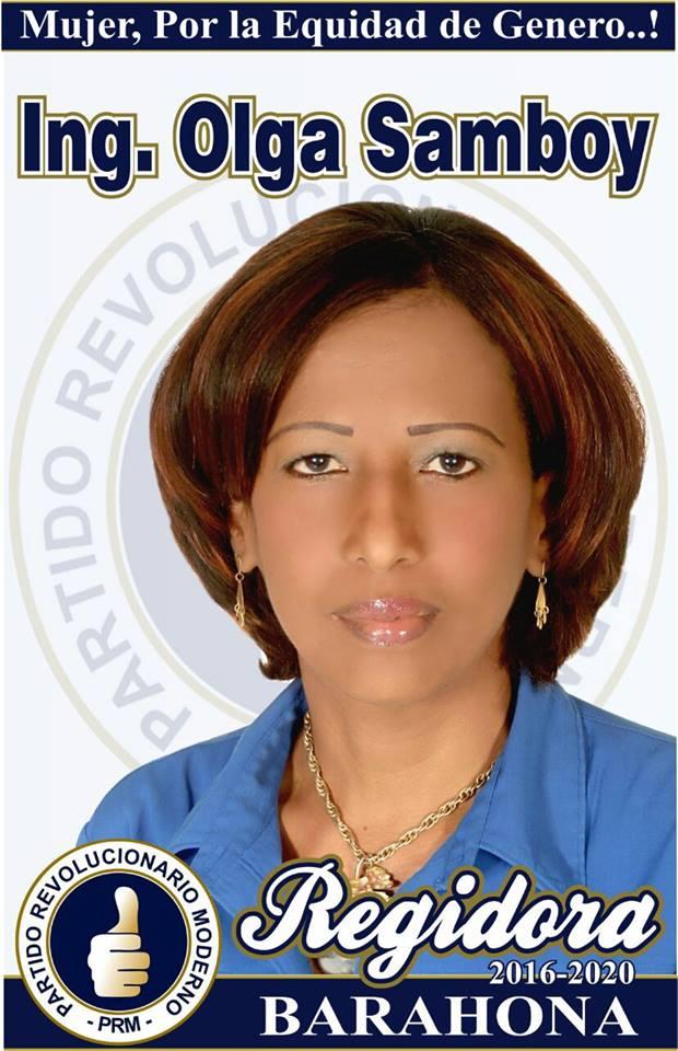 REGIDORA PRM SANTA CRUZ DE BARAHONA 2016-2020