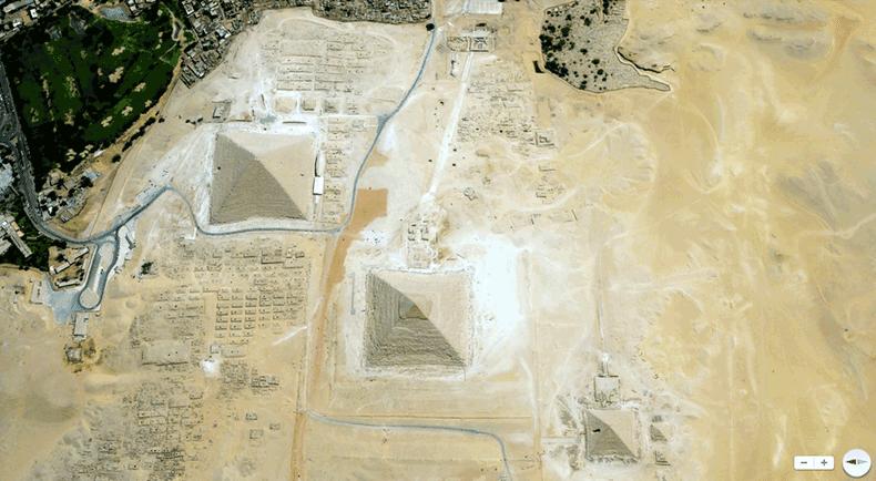 Foto mozzafiato: Egitto: Giza, Cairo - Necropoli di Giza