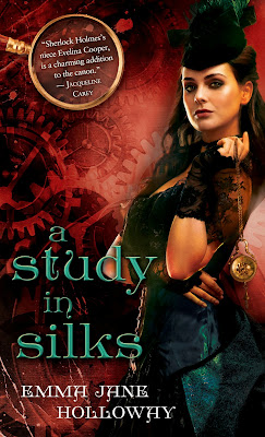 Guest Post + Giveaway – A Study in Silks by Emma Jane Holloway