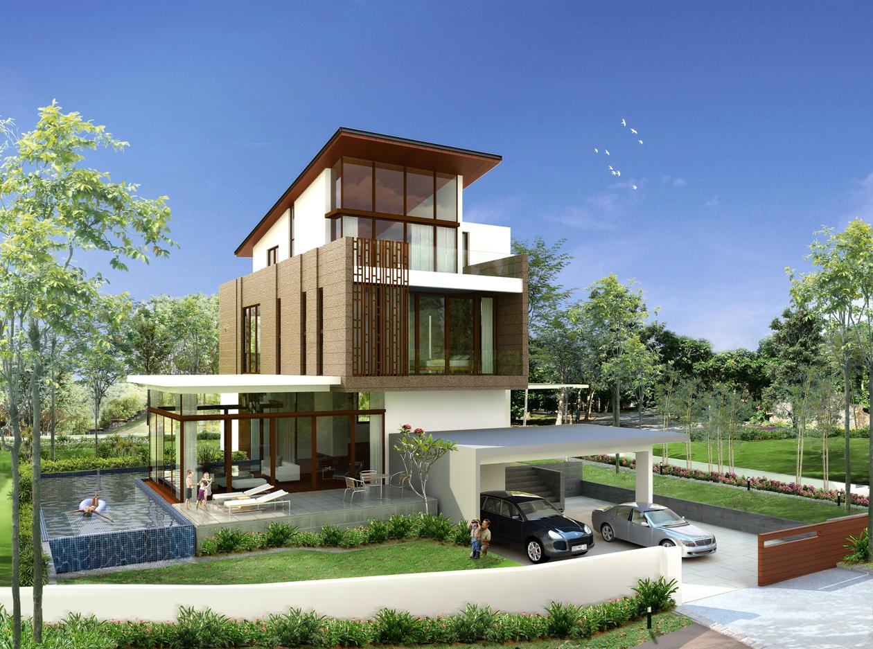 Reka Bentuk Rumah Modern  Ask Home Design
