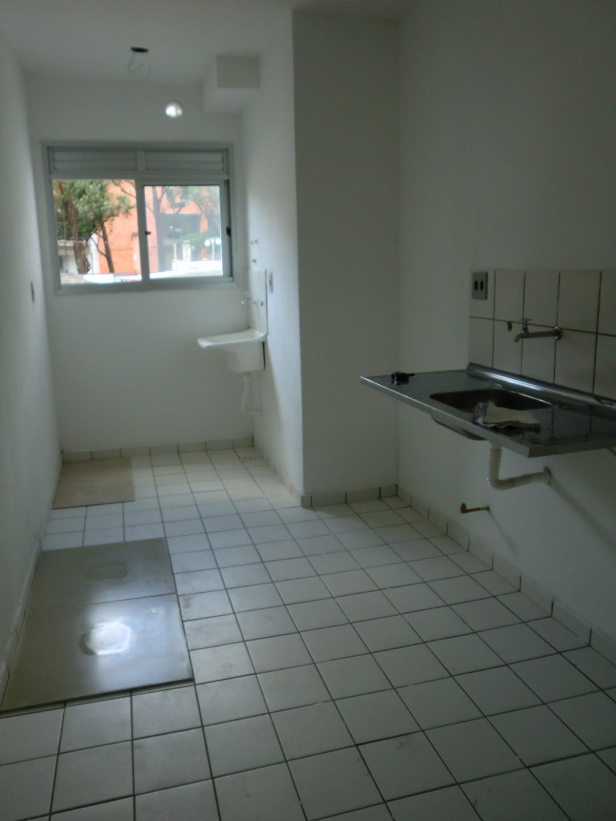 Reforma do apartamento antes e depois da cozinha do - Reforma piso pequeno ...