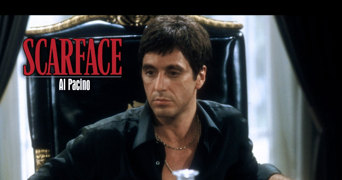 Al pacino scarface beauty and the beast for Occhiali al pacino scarface