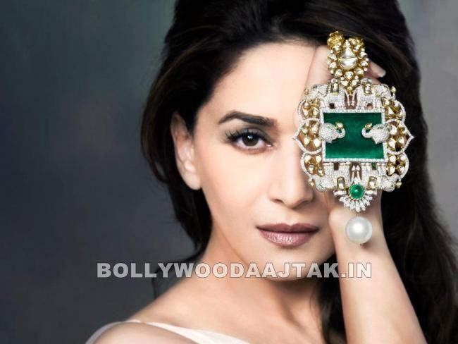 , Madhuri Dixit Jewellery Photoshoot Pics