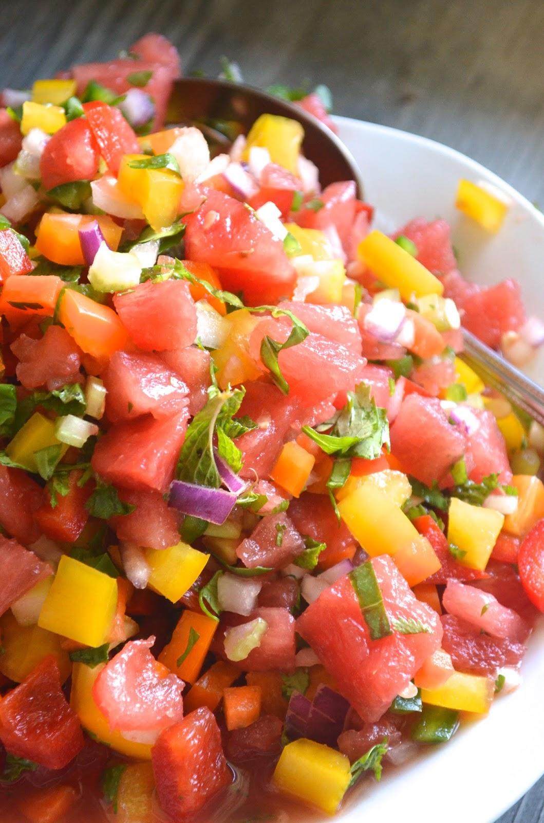 The Lazy Daisy Kitchen: mom's summer salsa