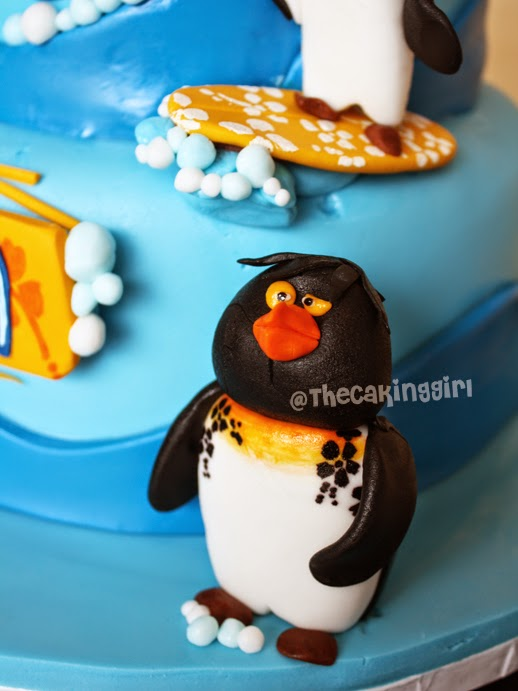 edible surfs up figurines