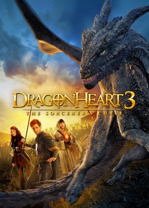 Dragonheart 3: The Sorcerers Curse 2015 poster