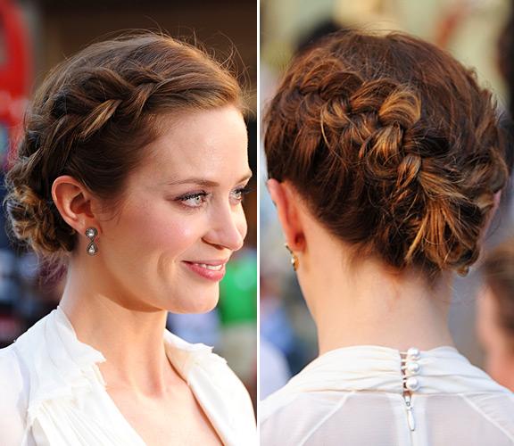 Плетение и прически на короткие волосы