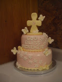 Little Girls Baptism Cake