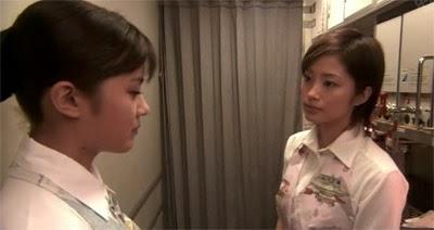 Misaki lectures a defiant Ueno.