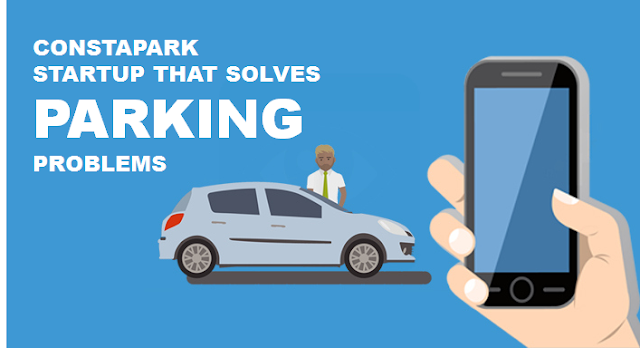 ConstaPark - A startup that solves Parking problems in India