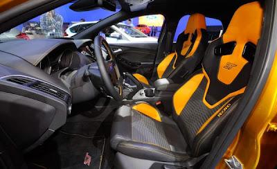 2012 Ford Focus ST Interior.
