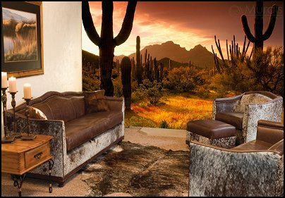 Decorating theme bedrooms maries manor southwestern for Cowboy wall mural